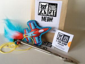 Jet Gift Bag Meow Tag