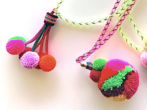 Thai Pompom Burst & Bauble Cat Toys