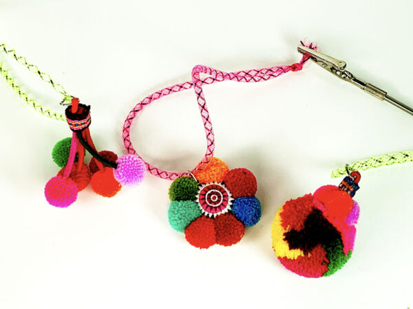 Thai Pompom Cat Toys