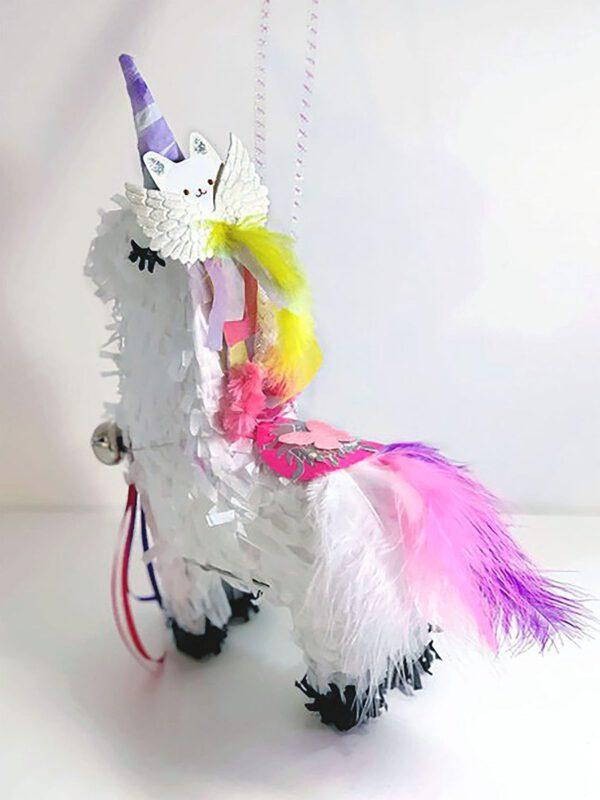 Unicorn Piñata Hanging