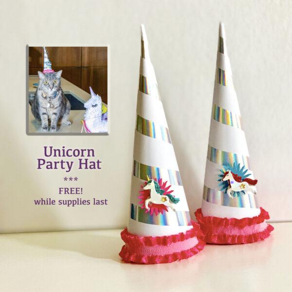 Unicorn Party Hats