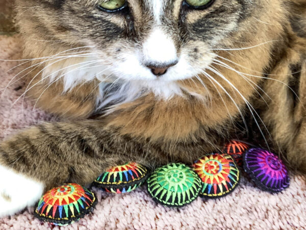Tamale & Rainbow Scatterballs Cat Toys