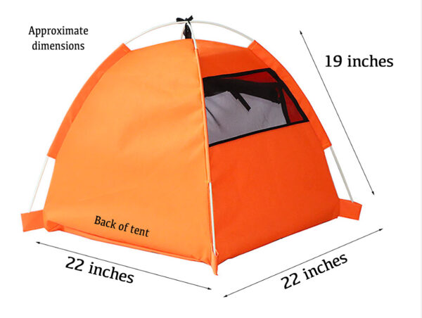 Luxury Pet Tent Dimensions