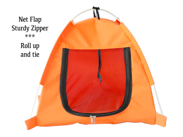 Luxury Pet Tent Front Zipper