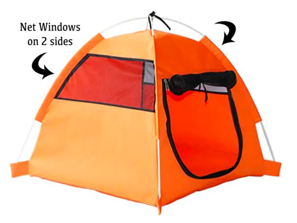 Luxury Pet Tent Windows