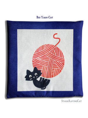 Big Yarn Cat Mat Cushion
