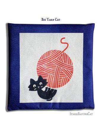 Big Yarn Cat Mat Cushion