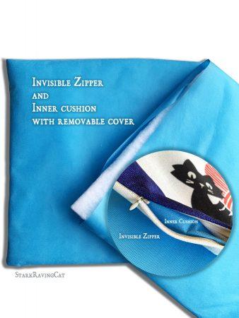 Inner Cat Mat Cushion Zipper Insert