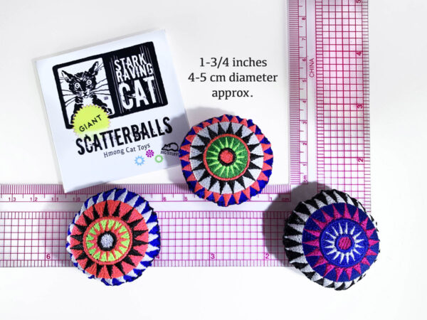 Giant Scatterballs Size