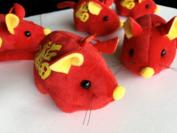 Chinese New Year Catnip Mice