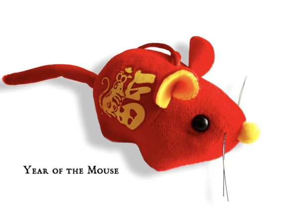 Lunar New Year Catnip Mouse