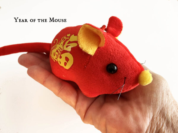 Year of the Mouse Catnip Toy