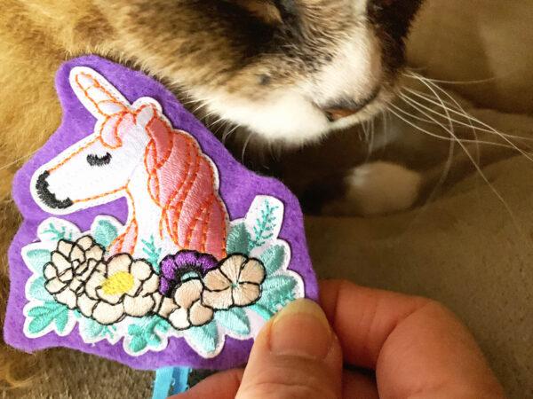 Tamale & Unicorn Catnip Cat Toy