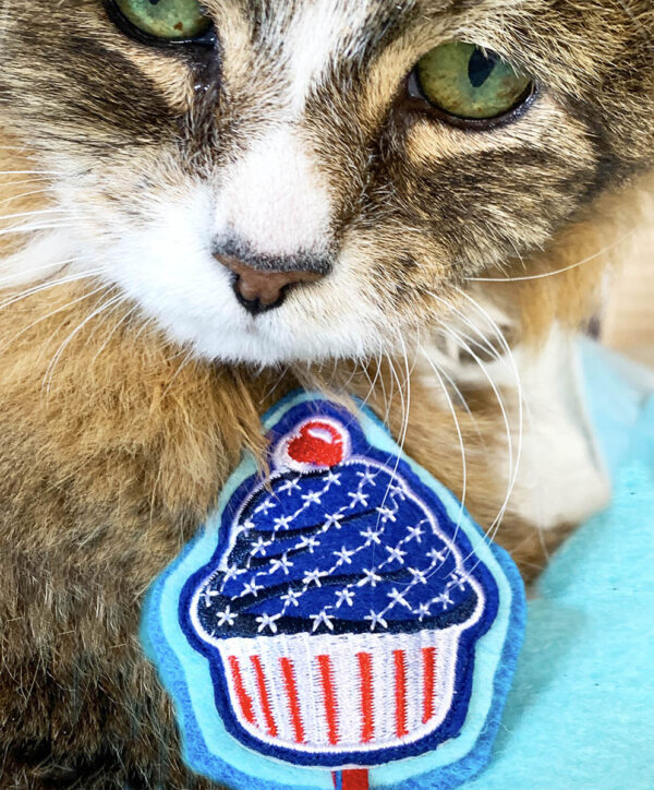 Tamale & American Cupcake Catnip Cat Toy