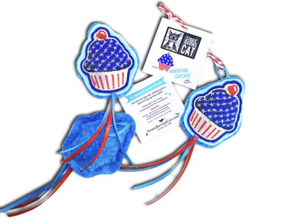 American Cupcake Catnip Cat Toy