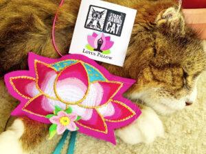 Lotus Pillow Catnip Cat Toy