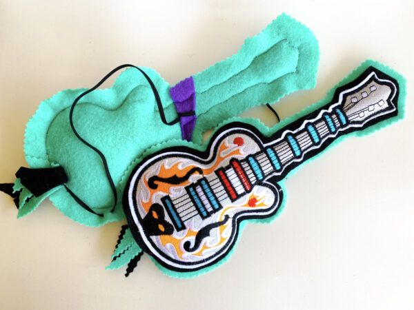 Big Guitar Kicker Catnip Toy