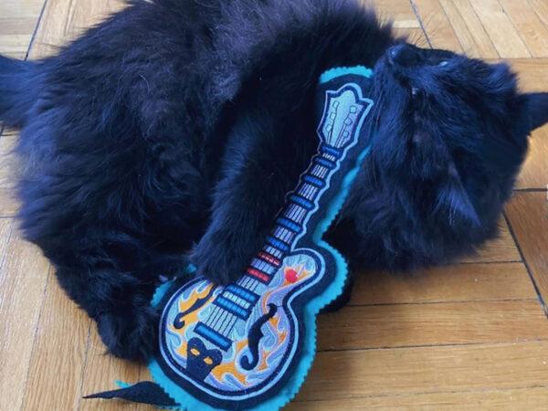ms_basil_'s cat & guitar