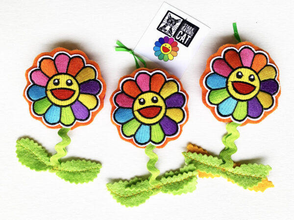 Happy Flowers Cat Toy