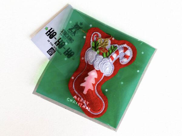 Mini-Stockings Catnip Toy