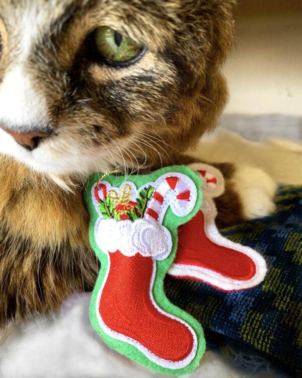Mini-Stockings Catnip Toys