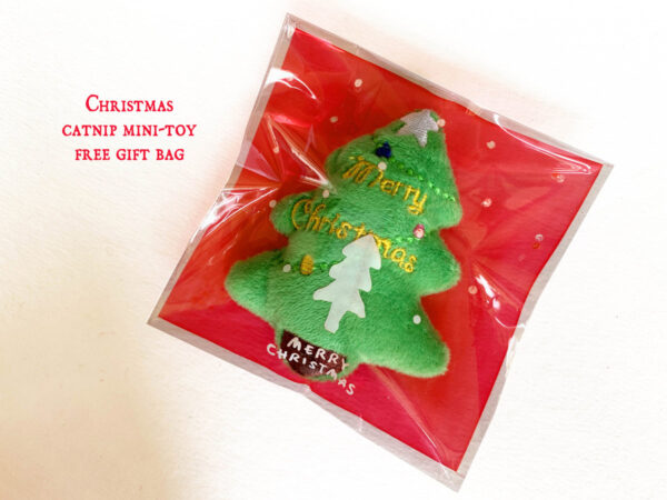 Christmas Tree Catnip Toy