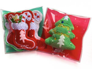 Christmas Tree and Stockings Catnip Toys