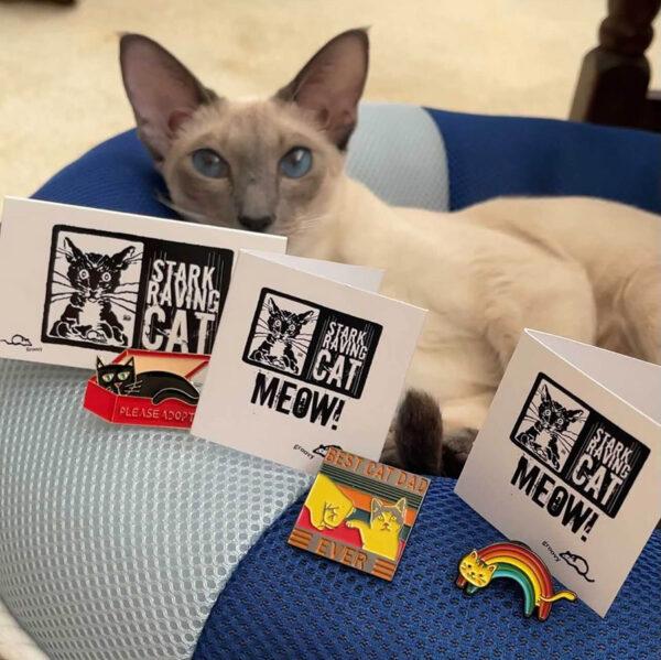 Set of Cat Pins