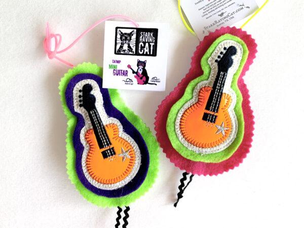 Mini Guitar Cat Toy