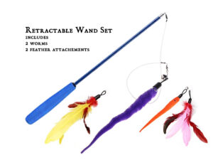 Wand Worms Feathers